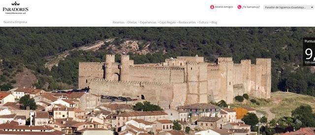 Castillo parador de Sigüenza