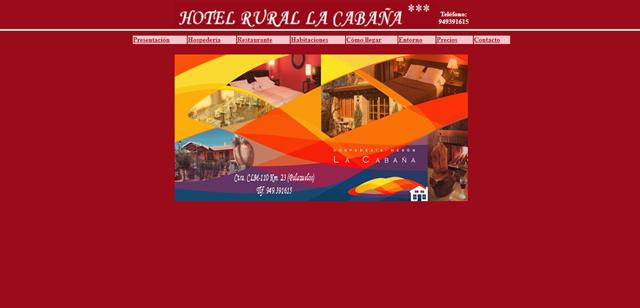 Restaurante y hotel rural La Cabaña