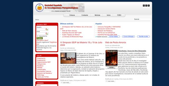Sociedad española de investigaciones parapsicológicas